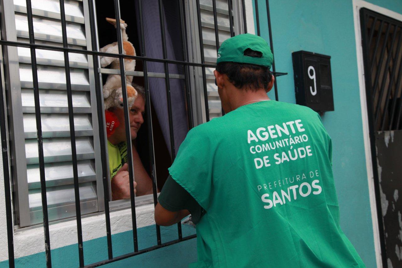 TELMA COBRA PAGAMENTO DE GRATIFICAÇÃO PARA AGENTES DE SAÚDE